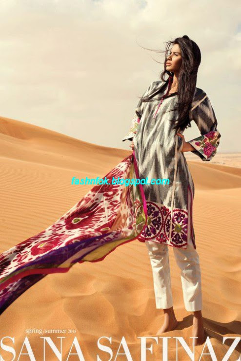 Sana-Safinaz-Lawn-Spring-Summer-Collection-2013-New-Fashinable-Clothes-Dress-Designs-18