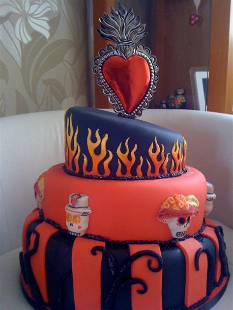 1000  images about Spectacular Dia de Los Muertos cakes on