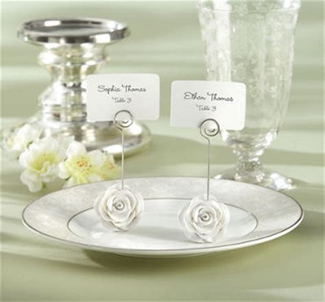 Wedding Place Card Holders   Unique Favors   Weddings