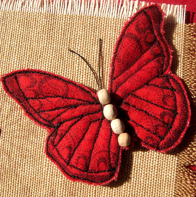 Stitched Butterfly