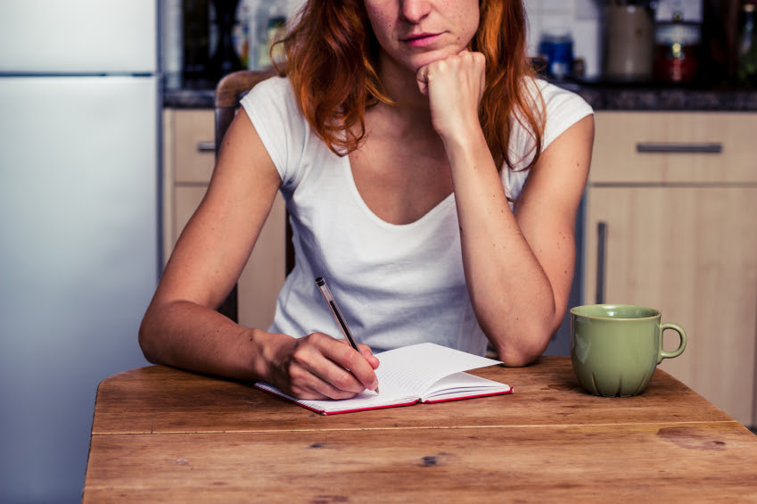 Image result for woman writing letter