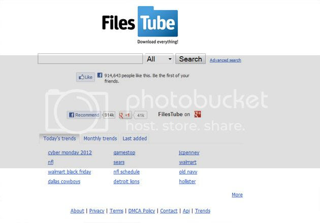 File Tube File Sharing Website