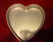 Wilton 13 x 2 Inch Heart Cake Pan  Wedding Valentines Day