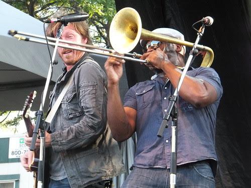 Jamie McLean Band at Ottawa Bluesfest 2011