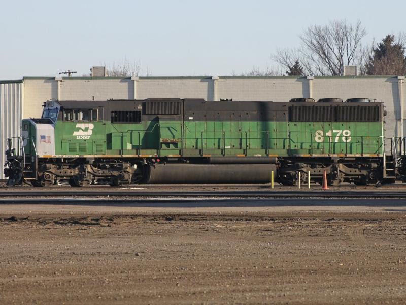 BNSF 8178 in Grand Forks