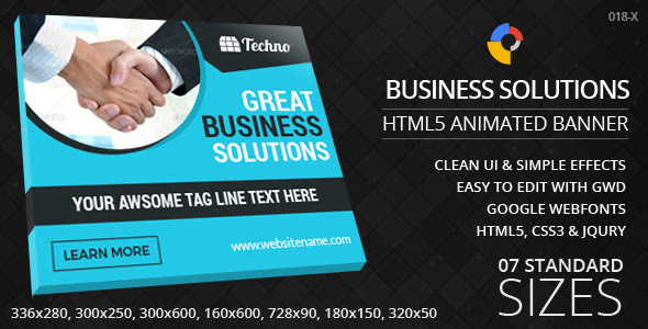 Business Solutions - HTML5 ad banners