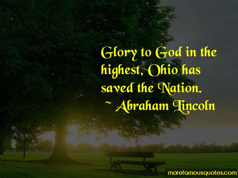 Glory To God In The Highest Quotes Top 22 Quotes About Glory To God
