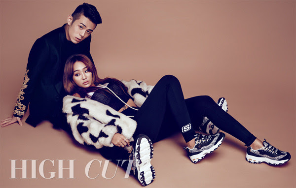 Sistar Hyo Rin and Beenzino - High Cut Magazine Vol.142