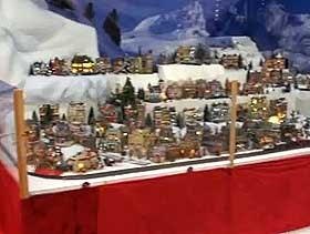 Display Ideas For Model Winter Panoramas Christmas Village Displays