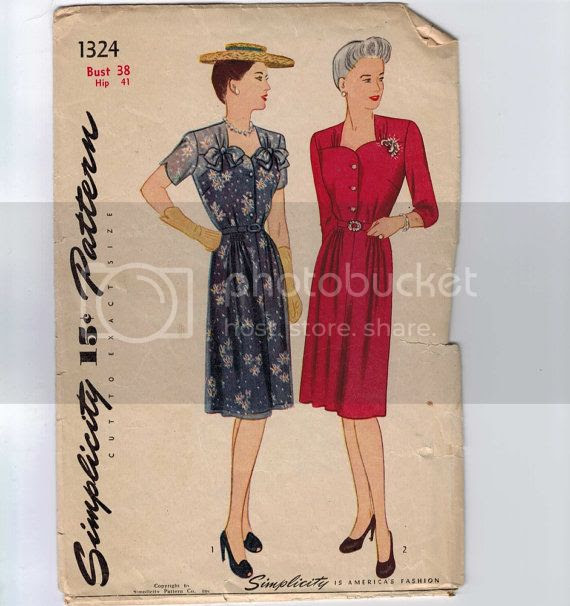 Chronically Vintage: Forty fantastic 1940s sewing patterns
