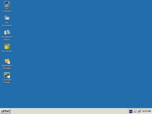 Image Source: Wikipedia - A screenshot of the React Operating System 0.4 desktop.