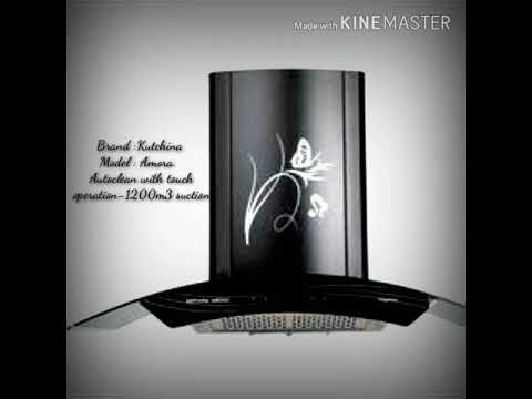 Kutchina Amora chimney with High Suction and Low noise
