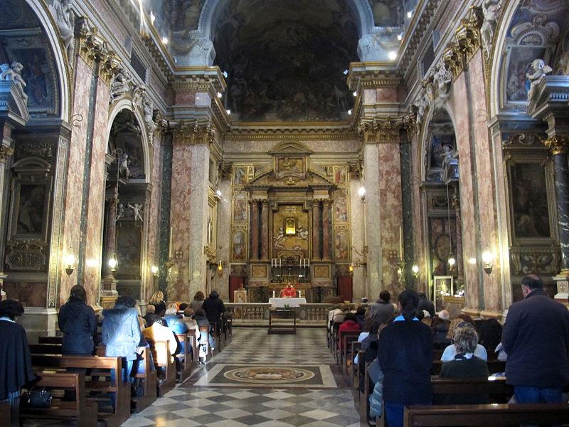 File:Chiesa di santi domenico e sisto, roma, interno 01.JPG