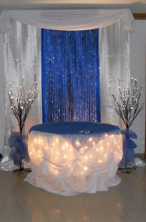 Royal Blue Wedding Decorations   Royal Blue Wedding