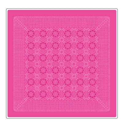 Knit tablecloth and decorate the pillow hook.  Diagrams (6) (398x406, 120Kb)