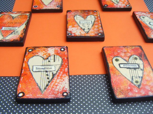 Fall Sweet HeART Magnets