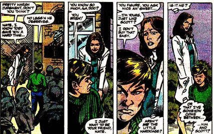 Classic X-Men 41 - Nate is Creepy