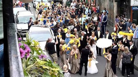 New Orleans wedding on Bourbon St. March 23 2013   YouTube