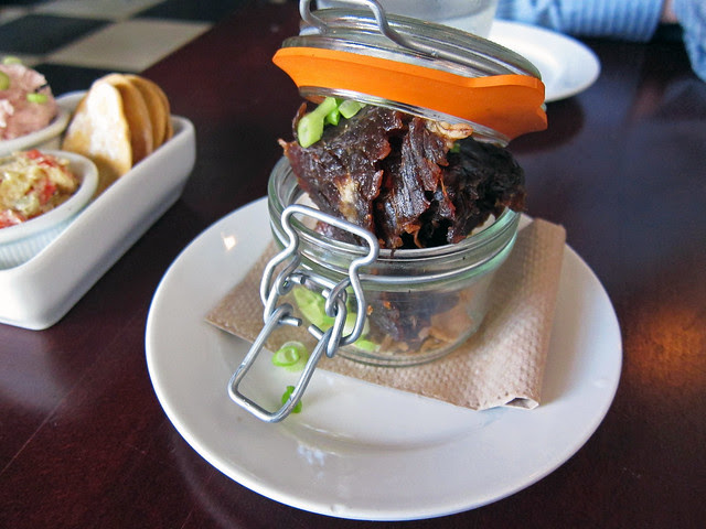 jerky in a jar