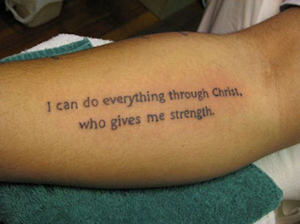 39 Bible Verse Tattoos For Your Spiritual Side And Guidance