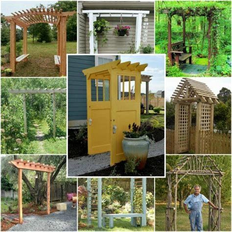 21 Brilliant DIY Backyard Arbor Ideas   An arbor is a