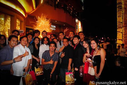bloggers @ PEBA night