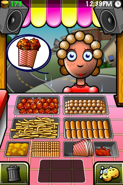 Streetfood Tycoon customer buying kwek kwek