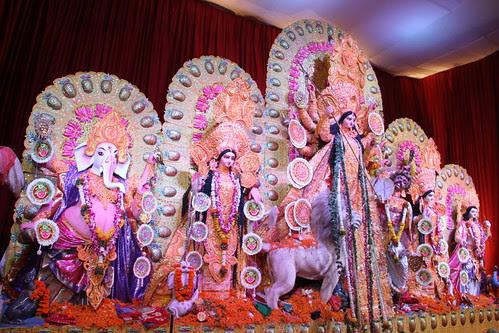 Bengal Club Durga Puja Shivaji Park 2012 by firoze shakir photographerno1