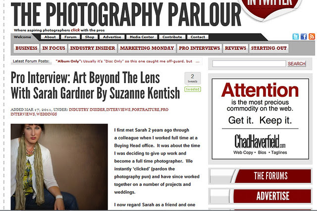 Sarah Gardner interview by Suzanne Kentish Photography