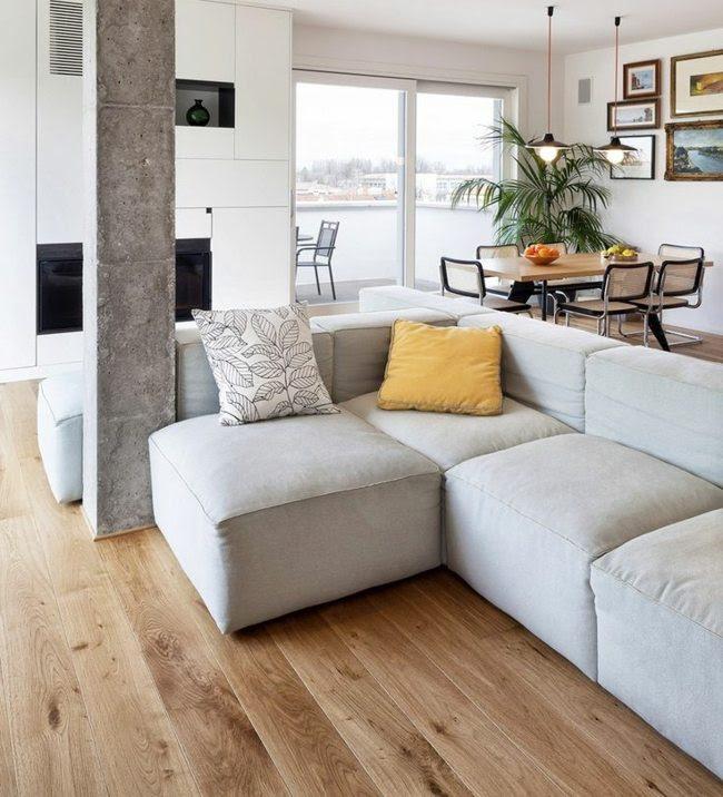 Naturmaterialien im Interieur – Einrichten mit hellem Holz