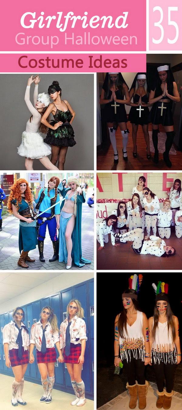 30 Girlfriend Group Halloween Costume Ideas - Noted List