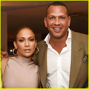 Jennifer Lopez & Alex Rodriguez Couple Up For MLB All-Star Party!
