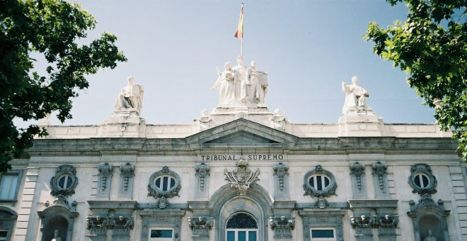 Fachada del Tribunal Supremo, en Madrid. E.P.