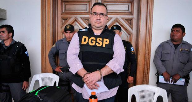 Juez federal ratifica proceso contra Javier Duarte por lavado