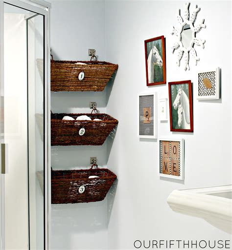 simple small bathroom storage ideas blogbeen