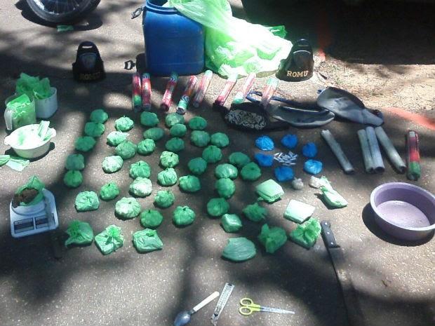 Drogas em Sorocaba (Foto: Divulgação/Guarda Civil Municipal de Sorocaba)