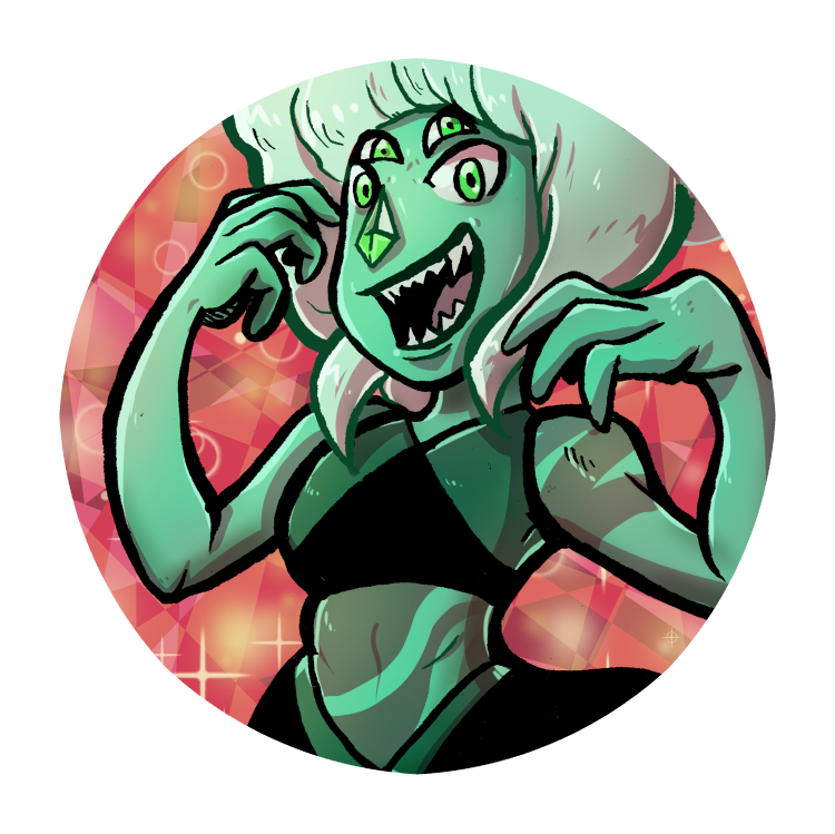 I have a rough relationship with this one. Malachite from steven Universe!