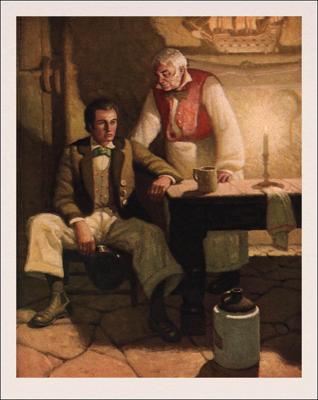 Mead Schaeffer, Moby Dick
