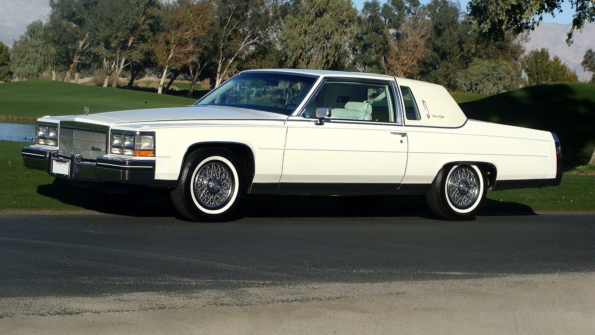 Sell used 1985 Fleetwood Brougham Coupe 43k Miles, Rare ...