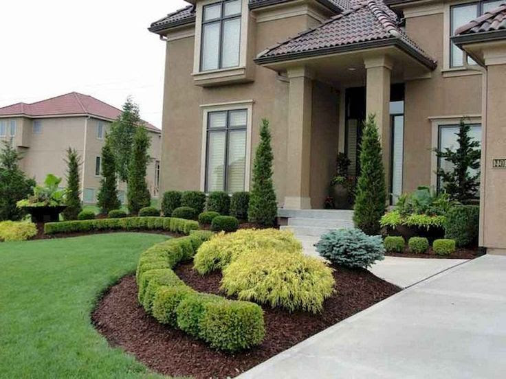 20+ Gorgeous Front Yard Landscaping Ideas on A Budget ...