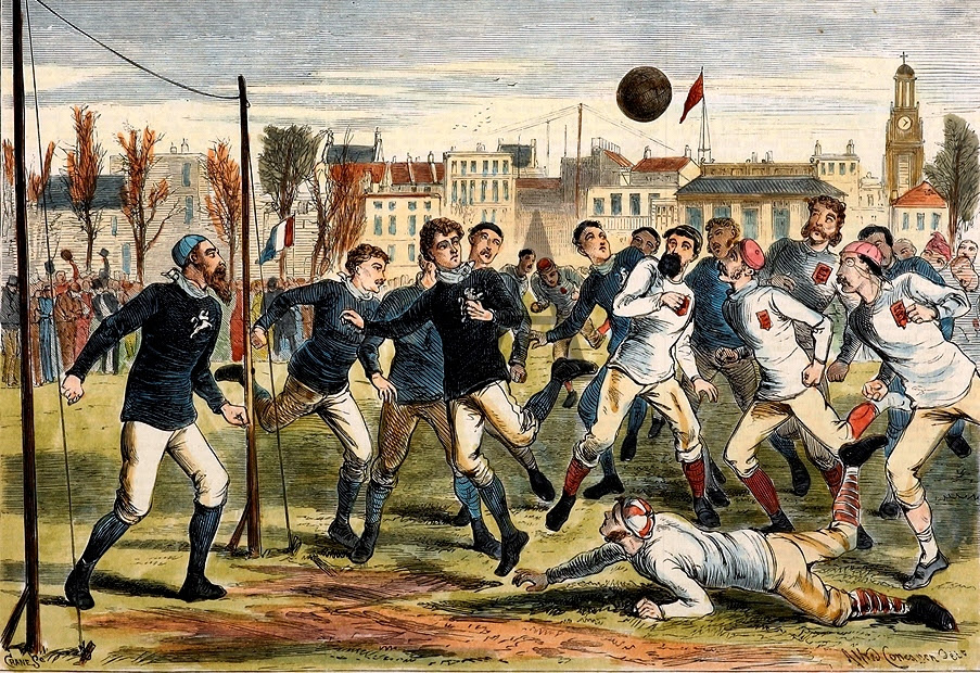 Image result for england vs scotland 1872