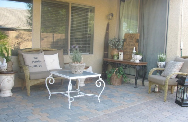 Ideas for Small Cottage Patios