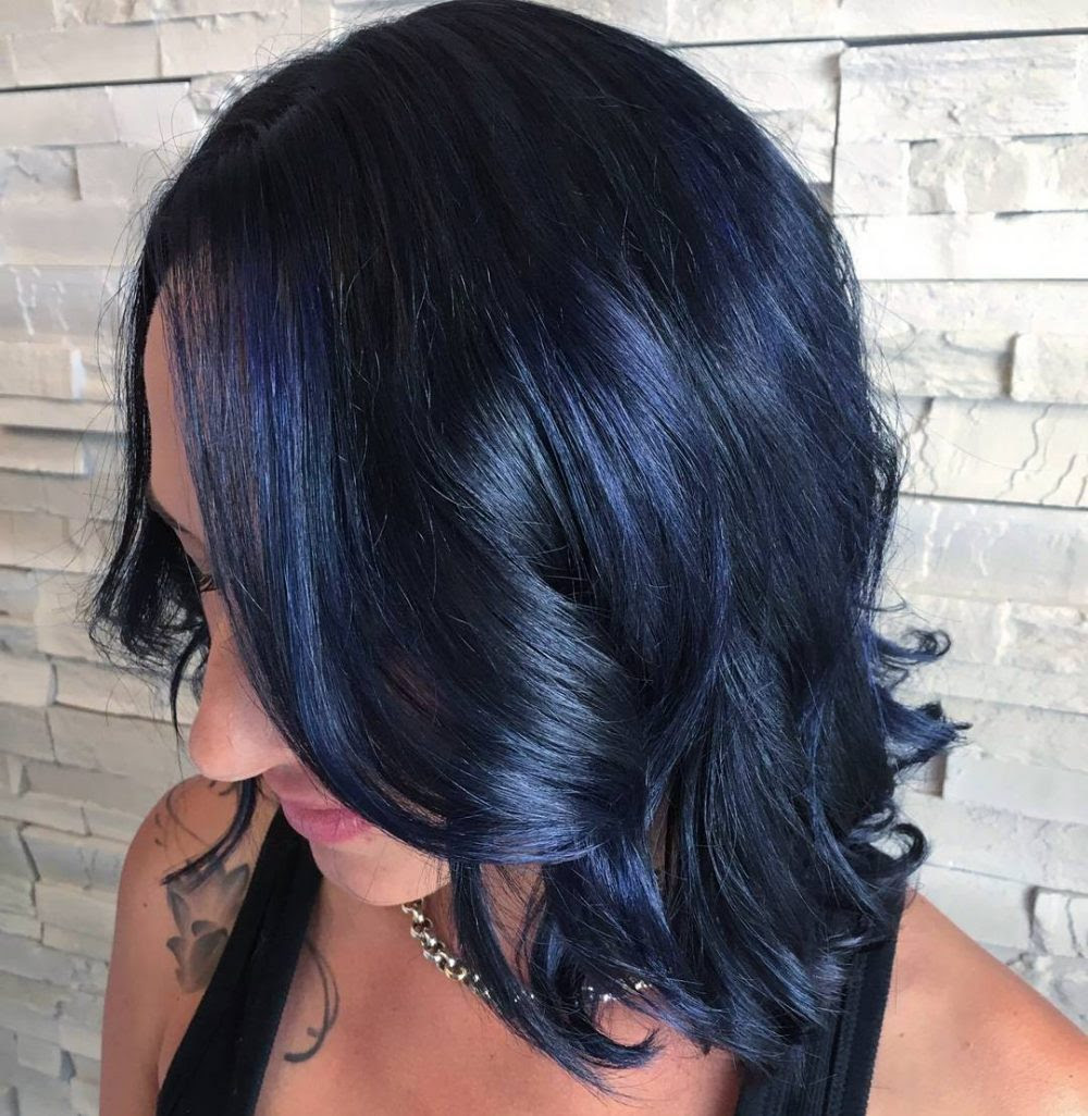 Blue Black Hair 2018s Most Popular Shades Are Right Here