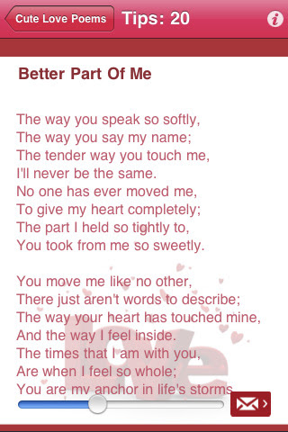 Love Poems for Him Her Your Boyfriend A Girlfriend Husband ...