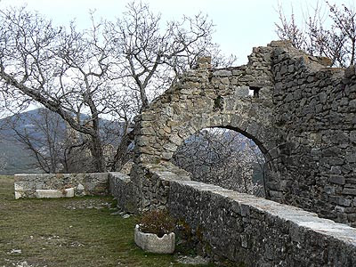 Ruines bargème 1