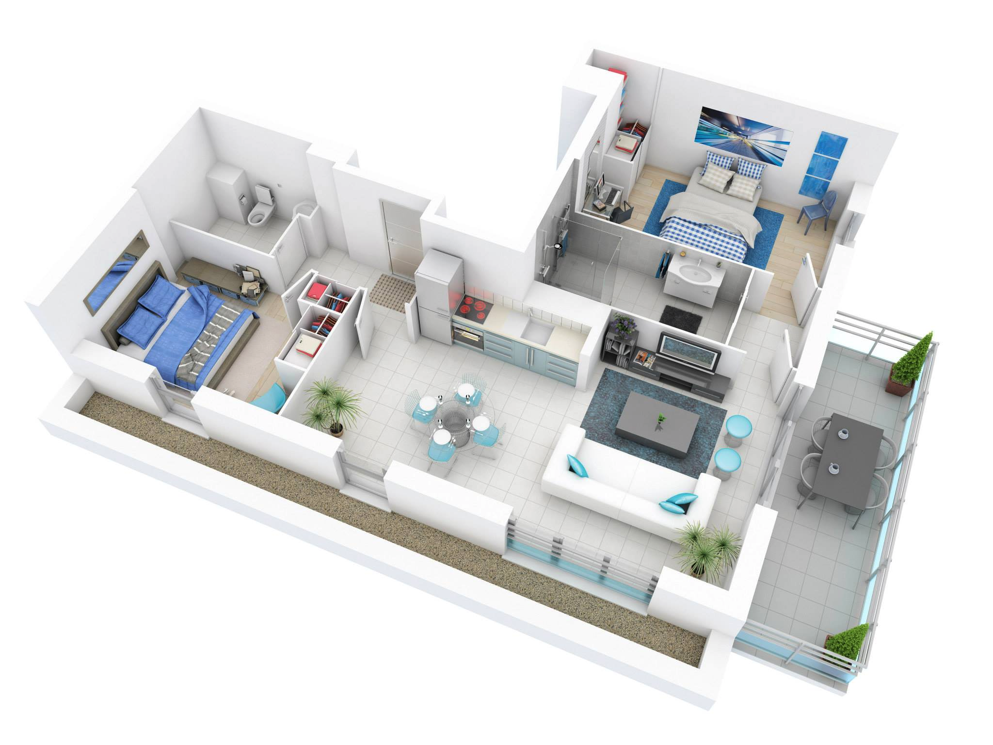 3d Small Home Plans Modern Home And Aplliances
