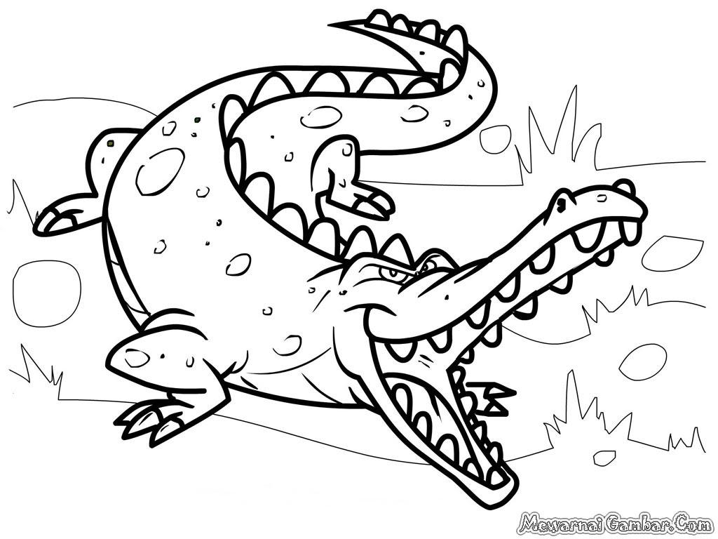 Belle Coloriage Crocodile A Imprimer Imprimer Et Obtenir