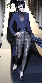 Lady Gaga in Thierry Mugler Paris Fashion Week