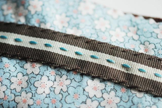 Fabric Berry Basket
