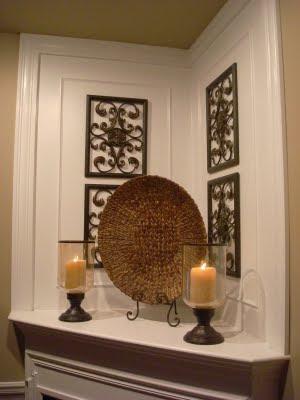 Sarah's Fireplace Revamp - Southern Hospitality